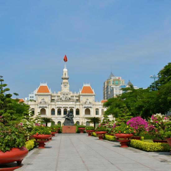 Ho Chi Minh City Hall in Saigon