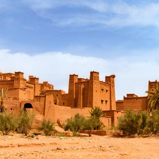 Kasbah Ait Ben Haddou near Ouarzazate Morocco